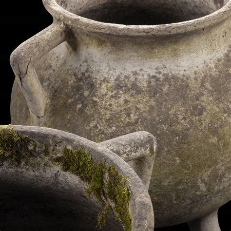 Concrete Pottery And Garden Furniture by Concrete Garden Pots At 1stdibs