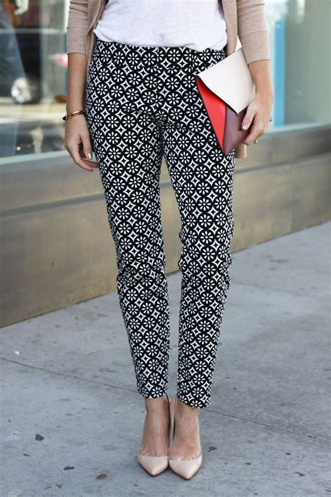 black and white pattern on clothes 25 cute print pants ideas on pinterest printed pants