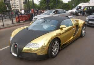 Bugatti Gold Chrome Car Modification Wallpaper Chrome Gold Modification