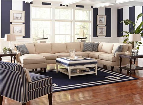 Beachy Living Room Furniture Libby Langdon For Braxton Culler Style Living Room Other By Manteo Furniture