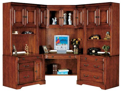 Home Office Corner Desk With Hutch Corner Desk With Corner Home Office Desk