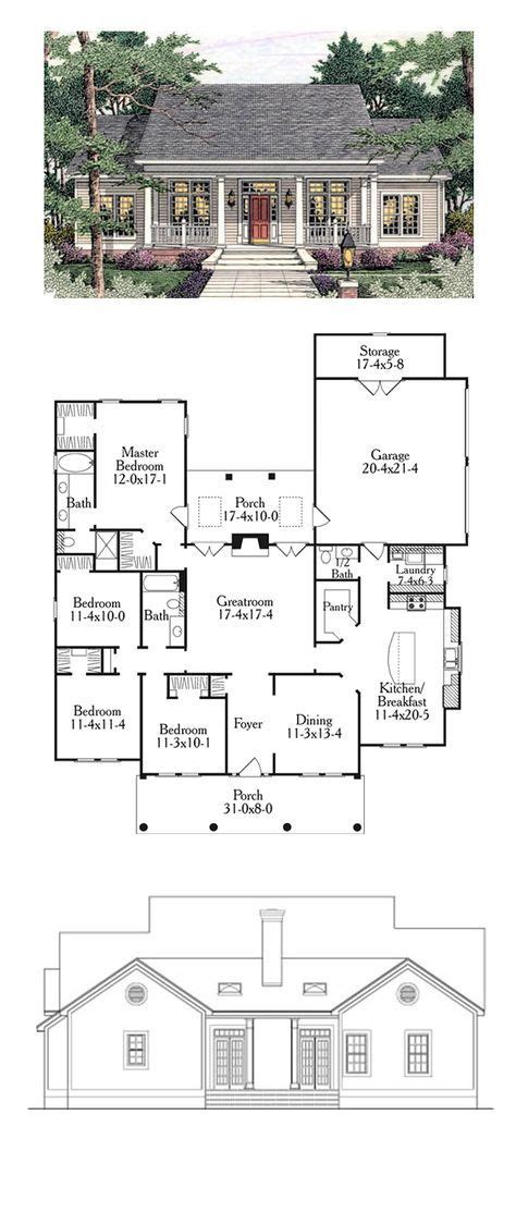 colonial house plan 2018 colonial style cool house plan id chp 34123 total living area 1997 sq ft listspirit
