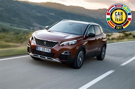 peugeot car of the year peugeot 3008 vincitore car of the year 2017