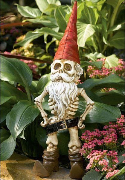 crazy lawn gnomes images  pinterest elves