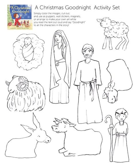 printable coloring pages nativity nativity cutouts for coloring coloring pages