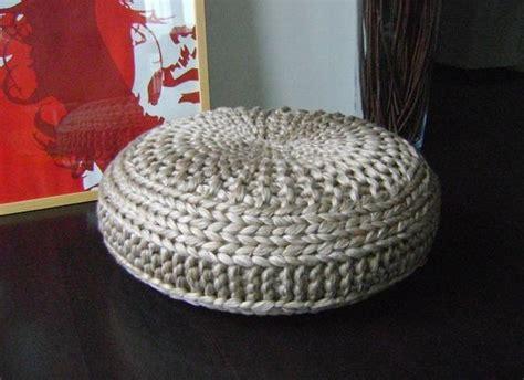 knitting a pouf knitted pouf patterns a knitting