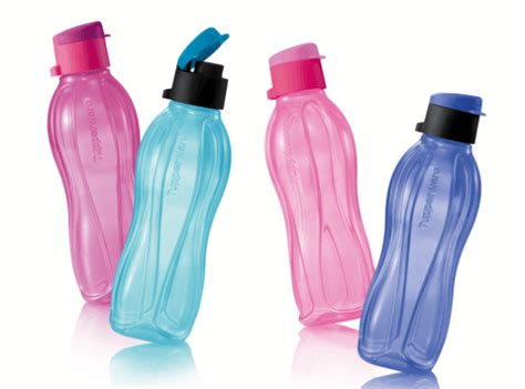 Tupperware Eco Bottle 500ml eco bottle flip top 4 500ml tupperware plus