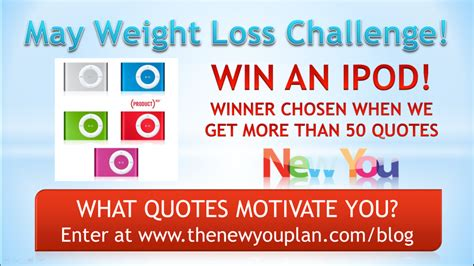 Weight Loss Challenge Win Money - day 13 new you plan weight loss challenge win an ipod the new you plan