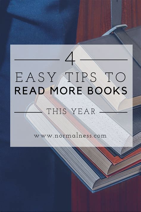 a more simple books 4 easy tips to read more books this year normal ness
