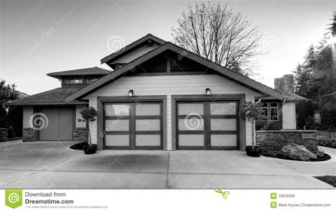 house home exterior black and white royalty free stock