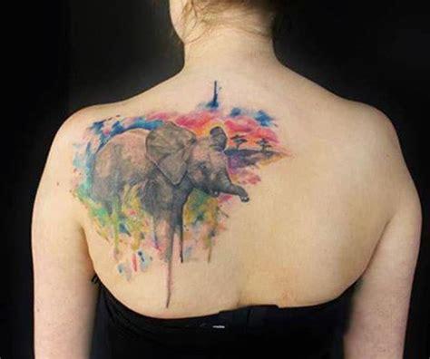 Back Shoulder Tattoos Watercolor Back Shoulder Tattoo Back Shoulder Tattoos For 2