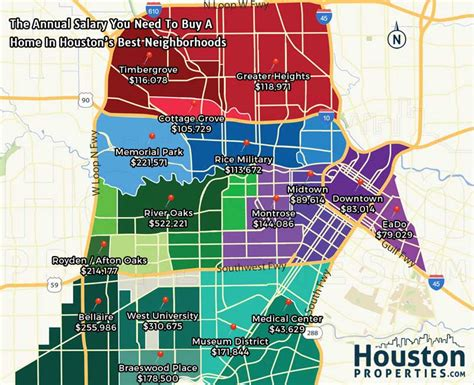 map of houston houston maps and data october 2016