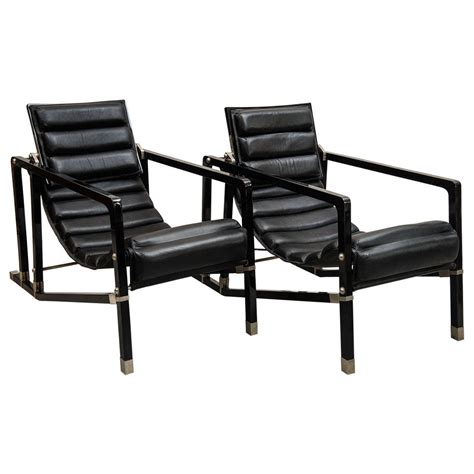 pair of eileen gray transat chairs at 1stdibs