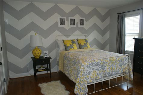 chevron bedrooms fig tea chevron walls