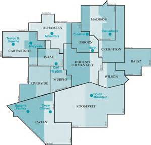 arizona school district map district information partner elementary districts