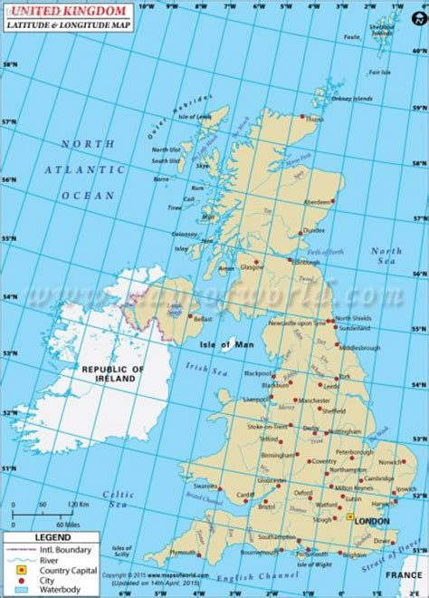 map of longitude and latitude of the united states uk map travel map travelquaz