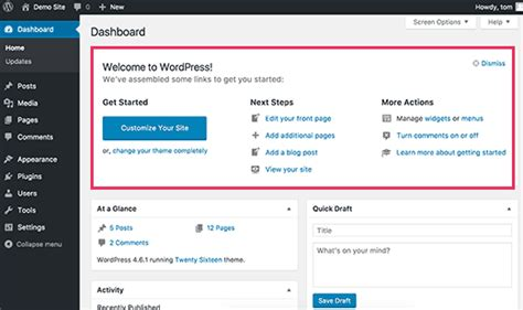 tutorial wordpress admin panel 32 extremely useful tricks for the wordpress functions file