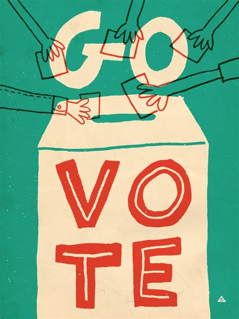 go vote images 45 best images about voting on herb lubalin