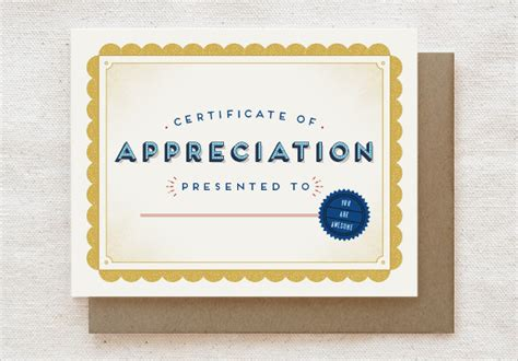 appreciation cards template 11 thank you certificate templates sle templates