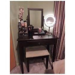 Makeup Vanity Mirror Desk Vanity Table Set Mirror Stool Bedroom Furniture Dressing