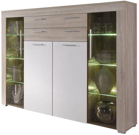 credenza cucina moderna vetrina moderna azalea credenza con led mobile soggiorno