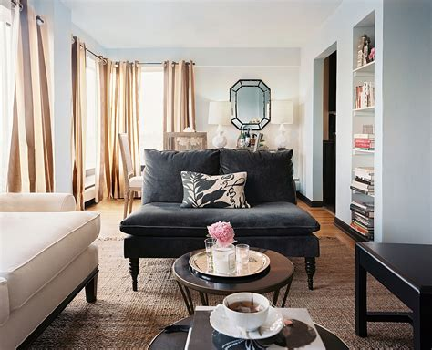 settee in living room armless sofa photos design ideas remodel and decor lonny