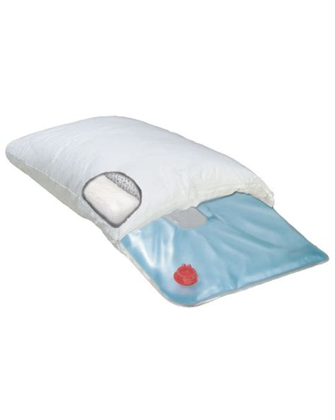 products deluxe water filled cervical pillow