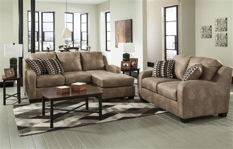 but chaise 717 contemporary faux leather sofa chaise by benchcraft wolf