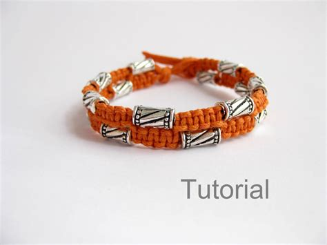 Easy Macrame Bracelet Patterns - bonus pattern macrame bracelet tutorial with bonus knotted