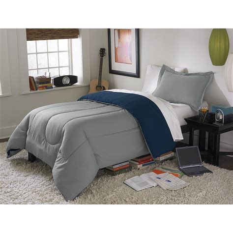 twin gray comforter coexist by cannon navy gray twin twin xl reversible