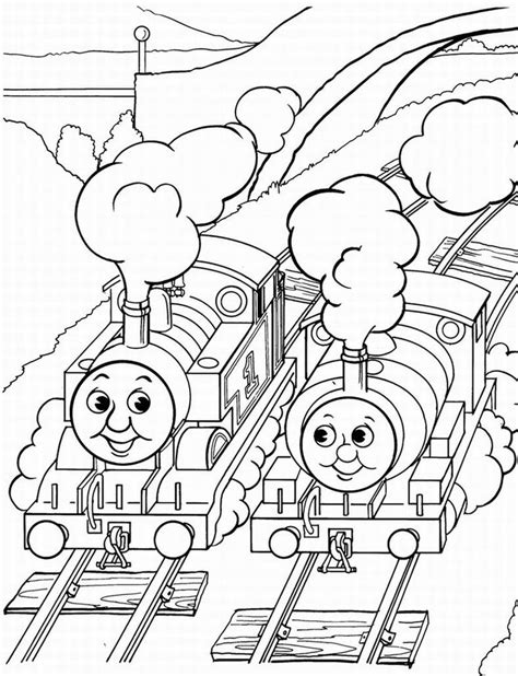 thomas the tank engine coloring pages 3 coloring kids