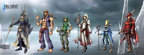 anime final fantasy 1 final fantasy i warriors of light by isaiahjordan on