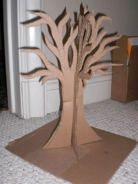 Alice In Wonderland Jewelry Tree 183 How To Make A Jewelry Tree 183 Construction On Cut Out Keep Cardboard Tree Template