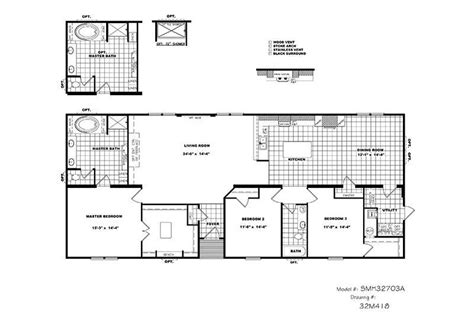 schult homes floor plans cmh schult tyler smh32703a mobile home for sale