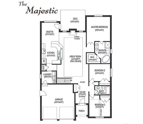 majestic homes floor plans 28 images 1698 sq ft 3 bhk
