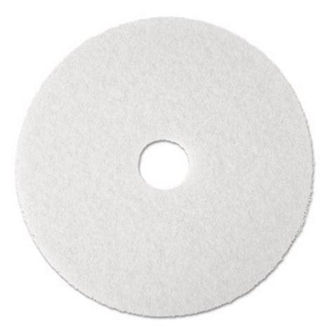 3m white floor pad 4100 17 quot 5 pads mmm08481