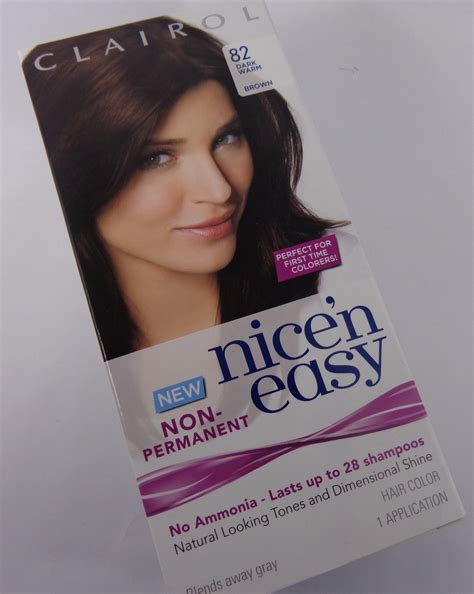 28 wash hair color review clairol n easy non permanent hair color