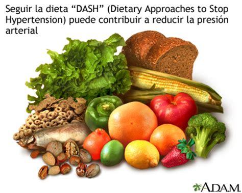 productos sin sal para hipertensos la hipertensi 243 n arterial y la dieta medlineplus