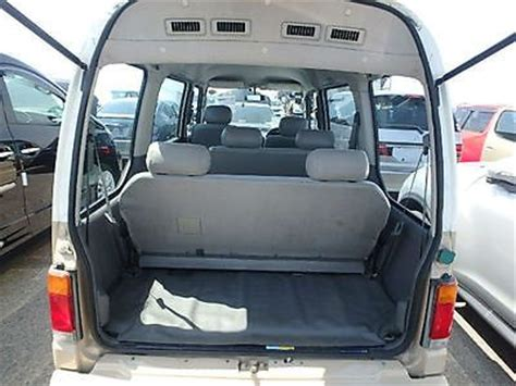 subaru domingo interior subaru domingo sambar 1200cc automatic 7 seats 4x4 cer
