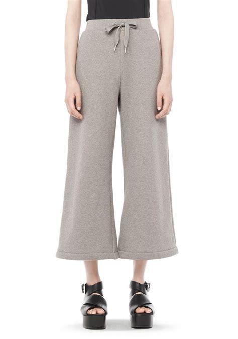 Wide Leg Sweatpants wang cotton fleece wide leg sweatpants