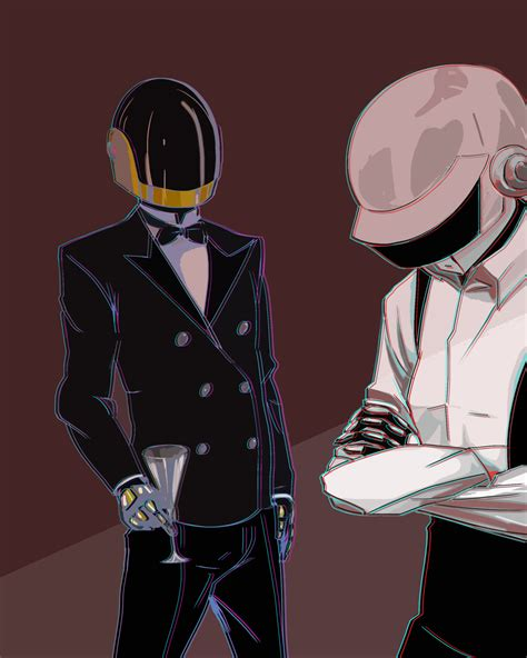 daft punk anime daft punk band image 727360 zerochan anime image board