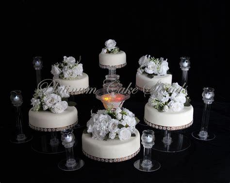6 TIER CASCADE WEDDING CAKE STAND W/FOUNTAIN & 6 VOTIVE SET (STYLE R603)   eBay