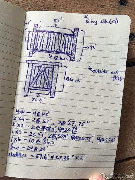 build a baby crib diy baby crib with a baseball twist reality daydream