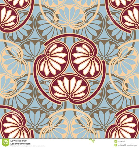 oriental japanese seamless pattern royalty free stock