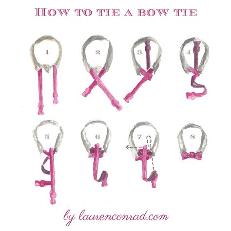 how to a odds ends how to tie a tie bowtie conrad