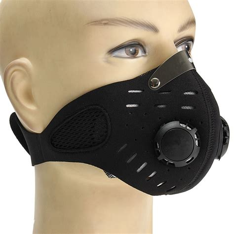 mouth mask mouth muffle dust filter pollution free bicycle motorcycle