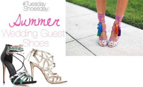 Wedding Guest Shoes by Tuesday Shoesday Summer Wedding Guest Shoes Fashion