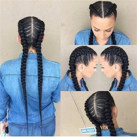 2 Braids Hairstyles by Amazing 2 Big Braids Hairstyles Ideas Buildingweb3 Org