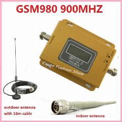 Repeater Gsm Single Freq 980 900mhz lcd display gsm 900mhz gsm 980 wireless mobile phone signal repeater booster cell phone