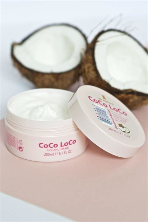 coco loco new in lee stafford coco loco coconut mask made from beauty